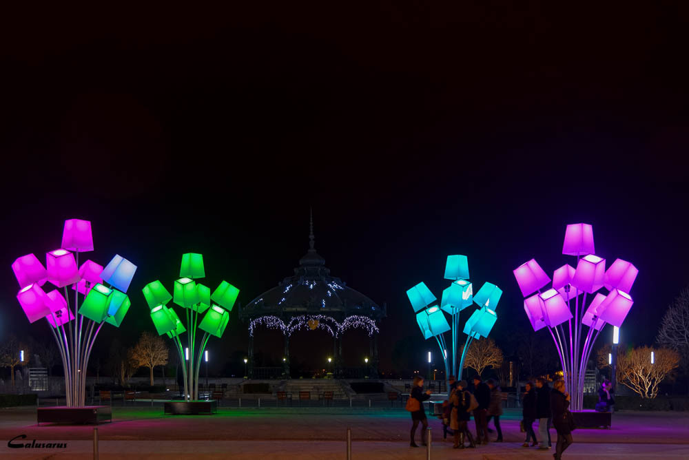 Valence Drome 26 Nuit lumiere