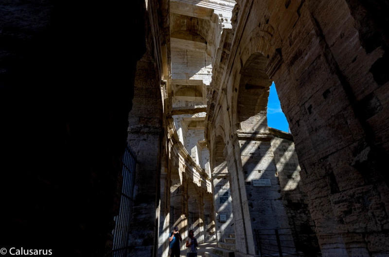 Arles ombre architecture