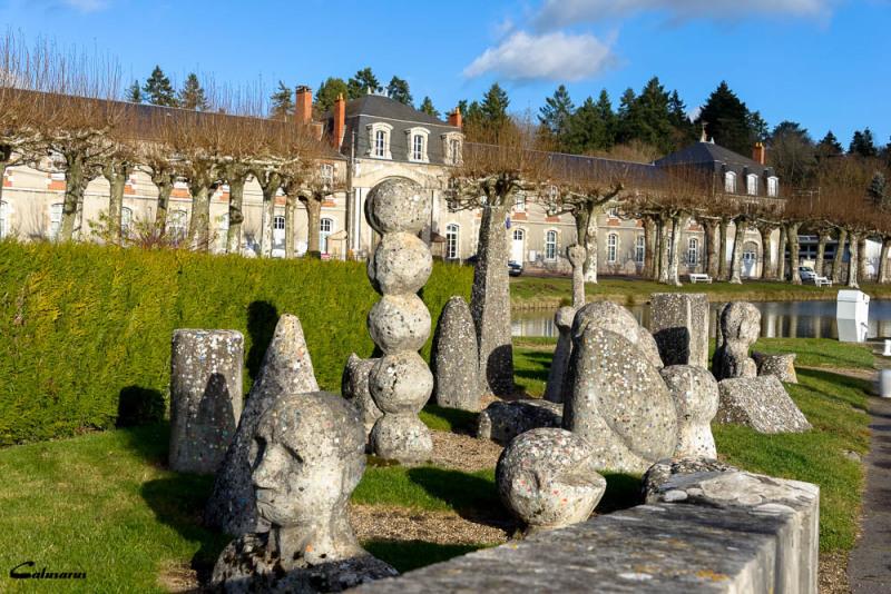 Paysage Briare sculpture