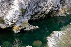 Eau paysage montagne pont-en-royans