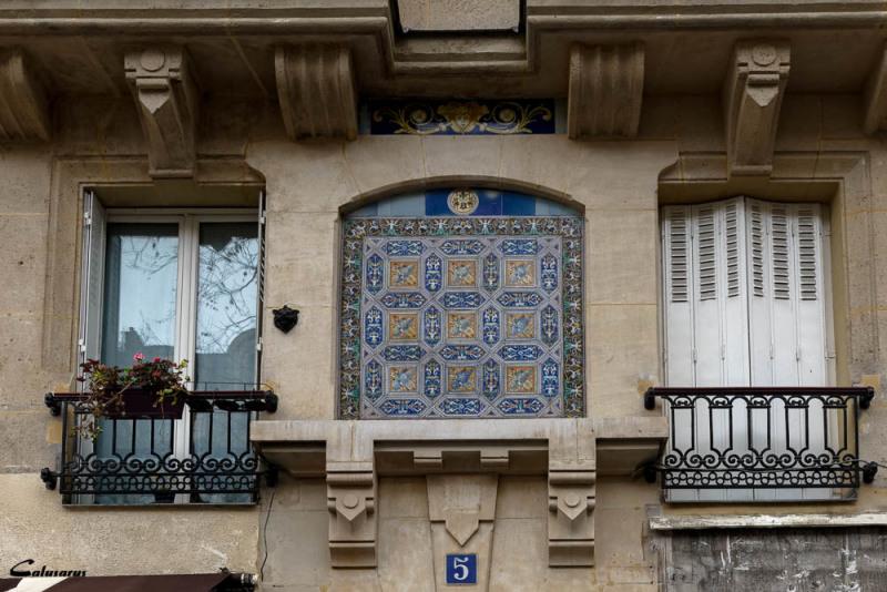 Paris mur décoration