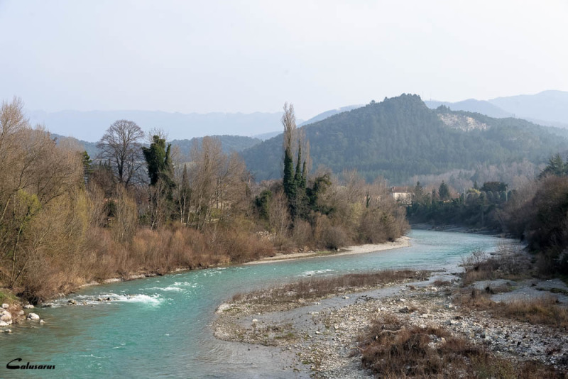 Paysage Drome rivière 26