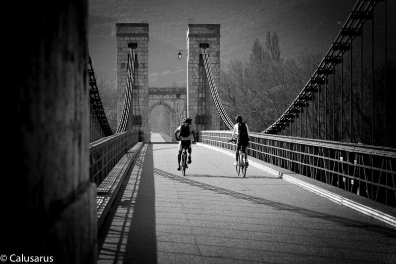Drome 26 N&B cyclisme