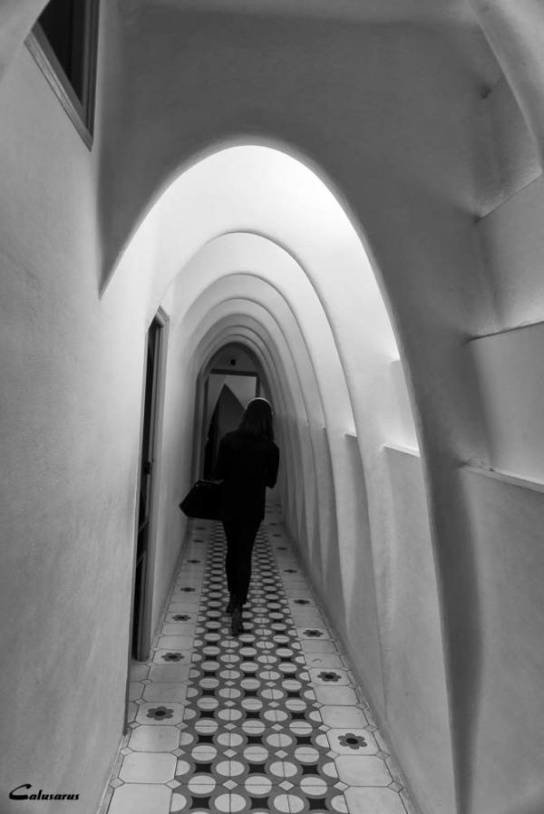 Couloir N&B Barcelone