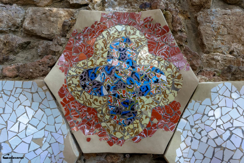 mosaïque Espagne Guell