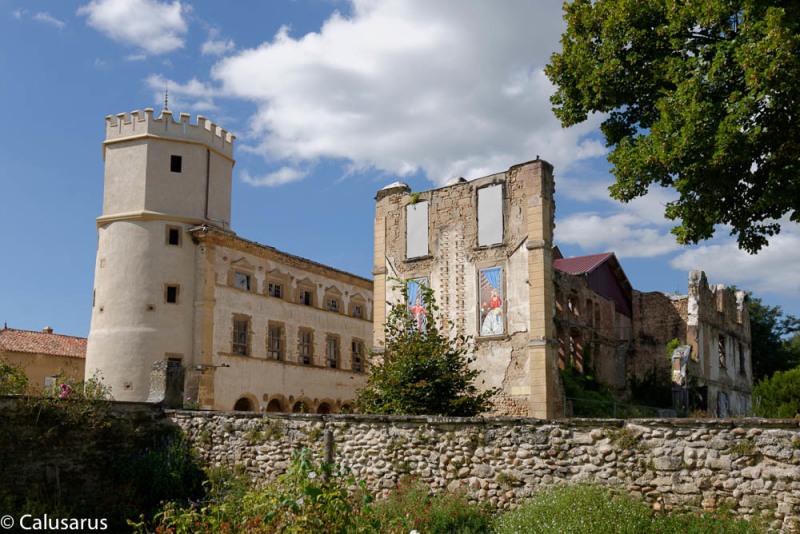 Chateau ruine Artaudiere