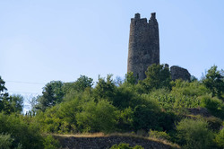 Paysage Ardèche Arras-sur-Rhone Tour