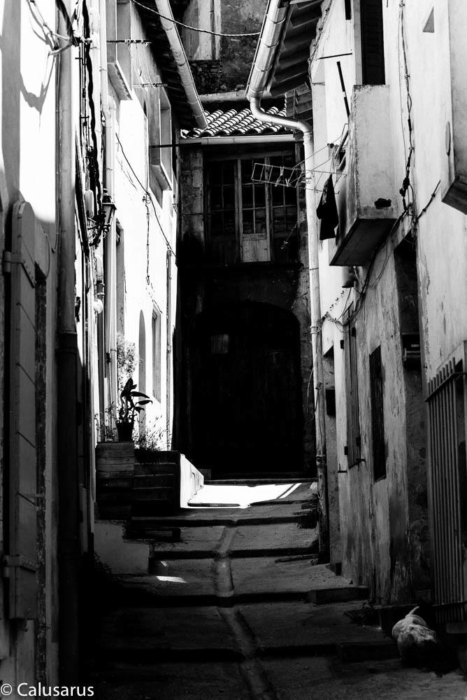 rue Arles N&B