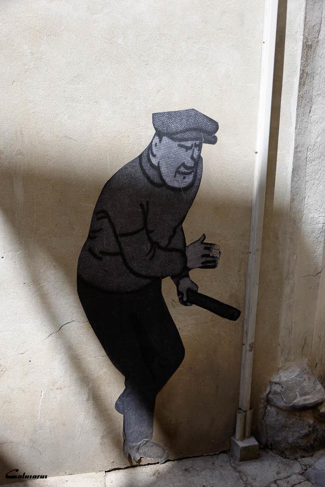 Portrait homme BD Arles