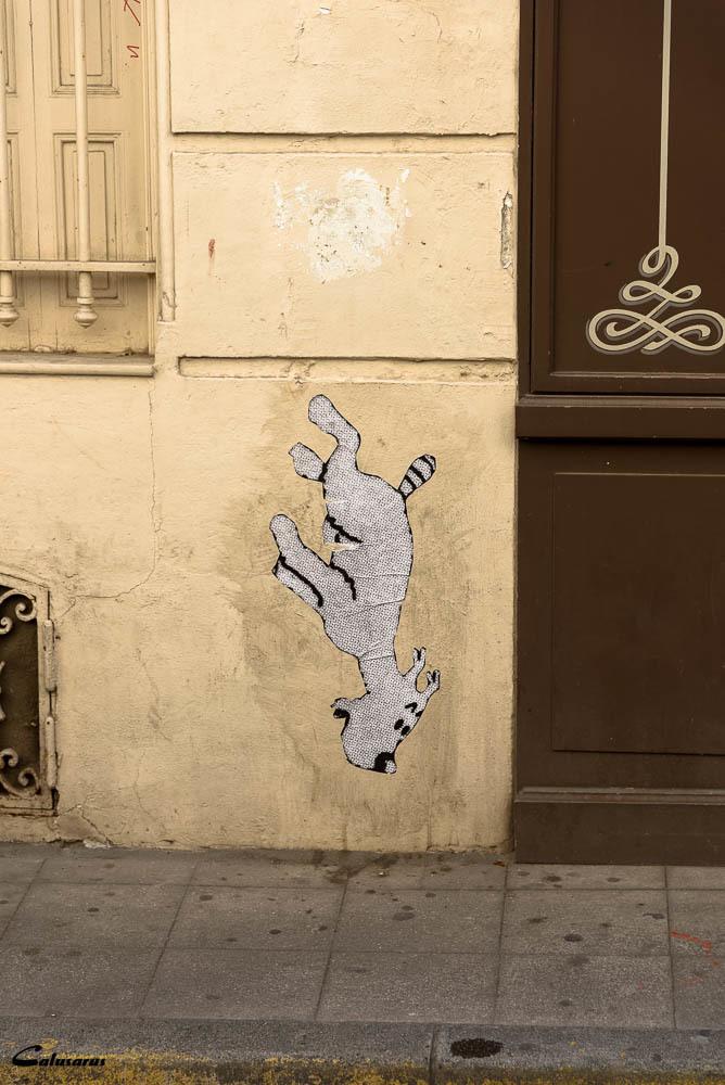 BD graffiti mur