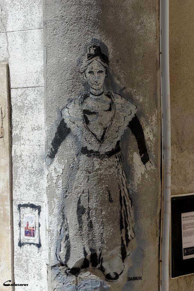 Arles graffiti mur
