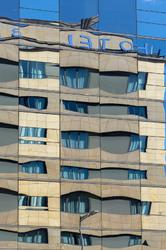 Immeuble Barcelone reflet