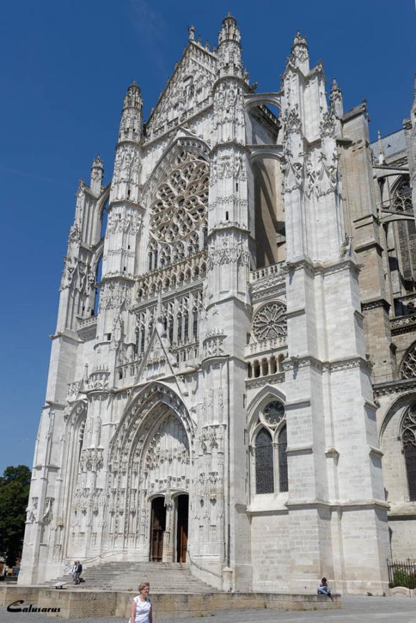 Beauvais cathédrale silhouette