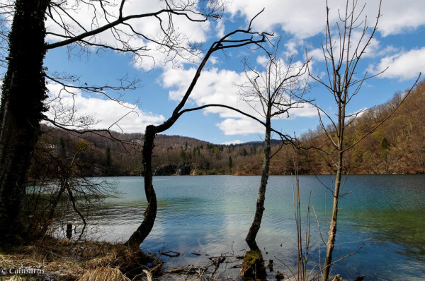 Paysage Croatie lac