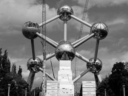 Bruxelles N&B monument