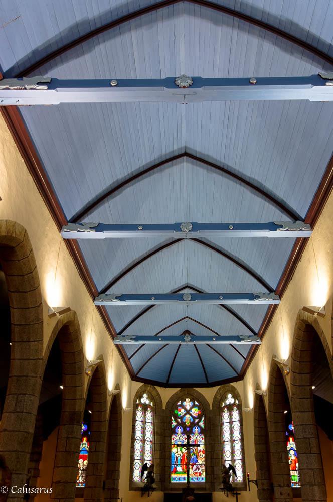 Intérieur Eglise Finistere