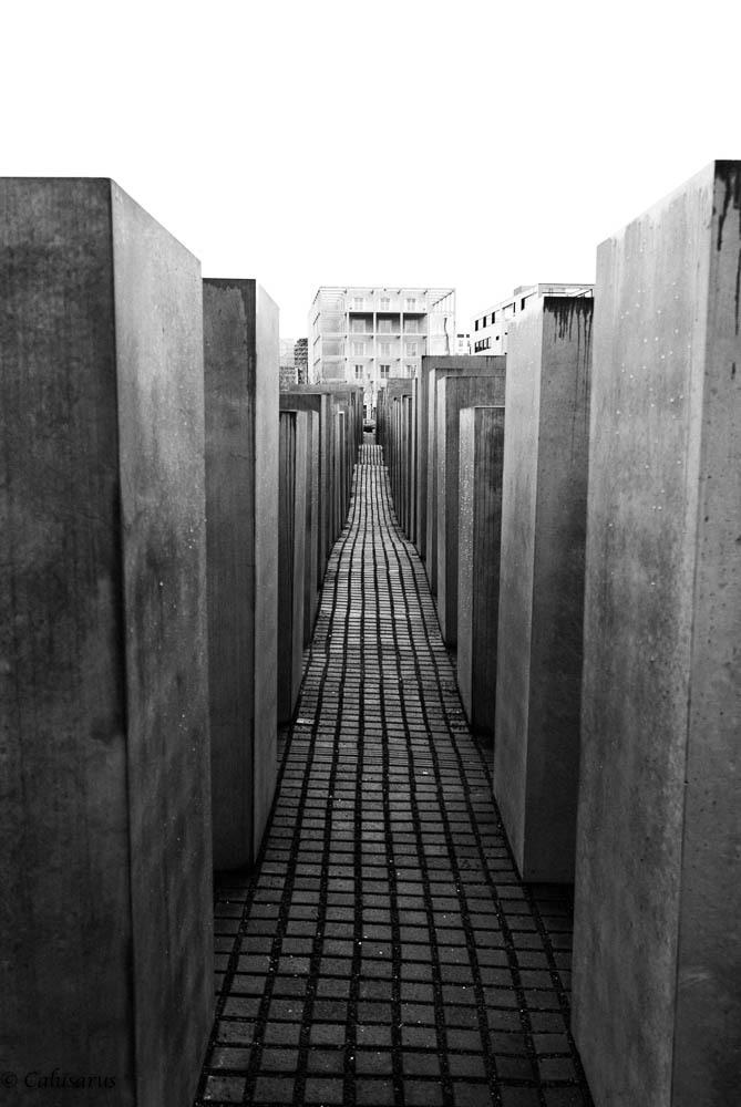 Monument Berlin N&B