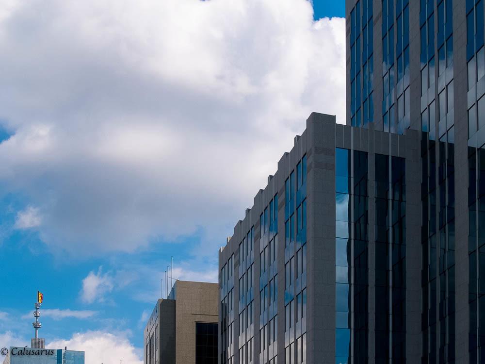 Paysage ciel immeuble
