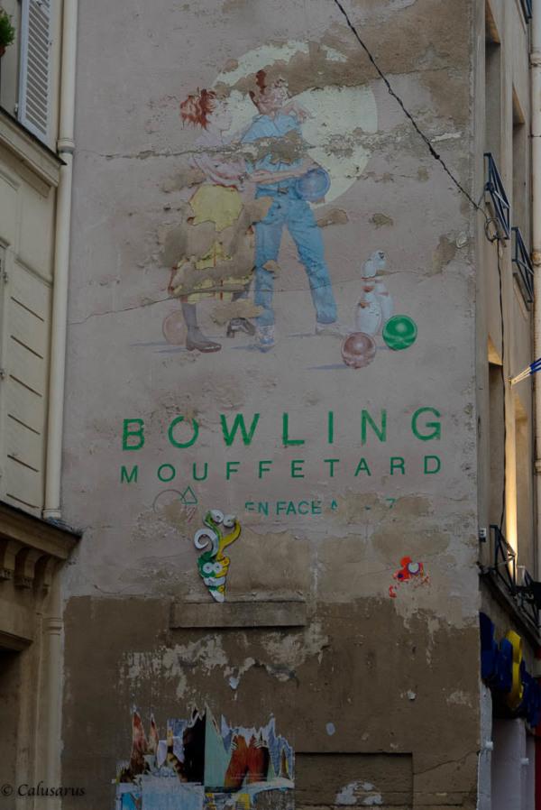 Publicité Paris mur