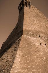 Mur Sepia Vaucluse Courthezon