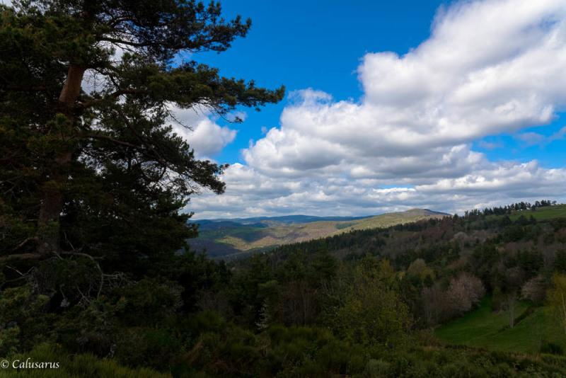 Paysage Montagne Ardèche Vernoux-en-Vivarais
