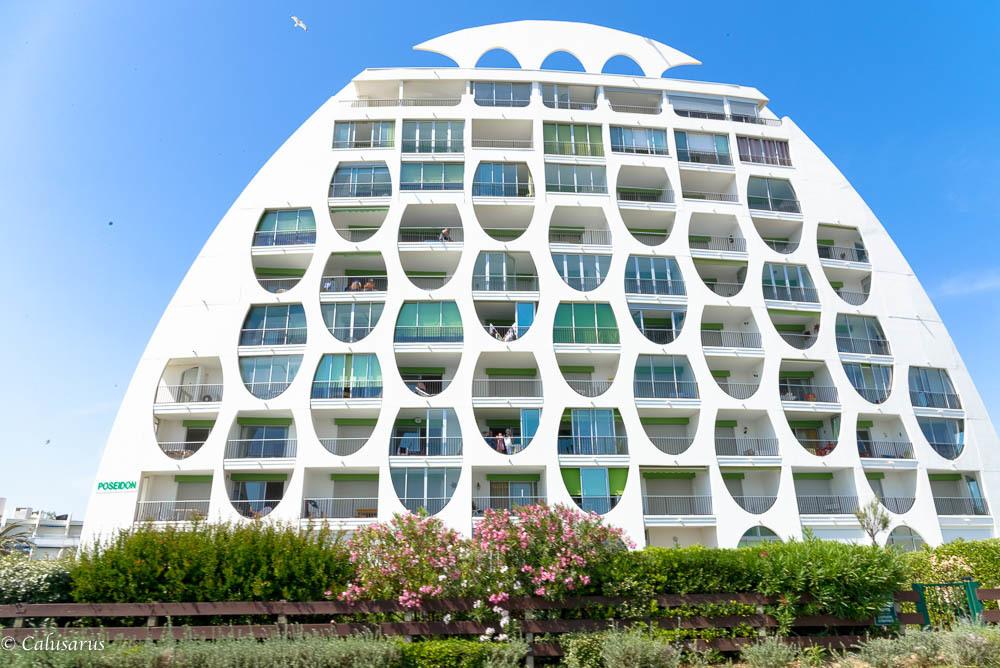 Architecture la grande motte