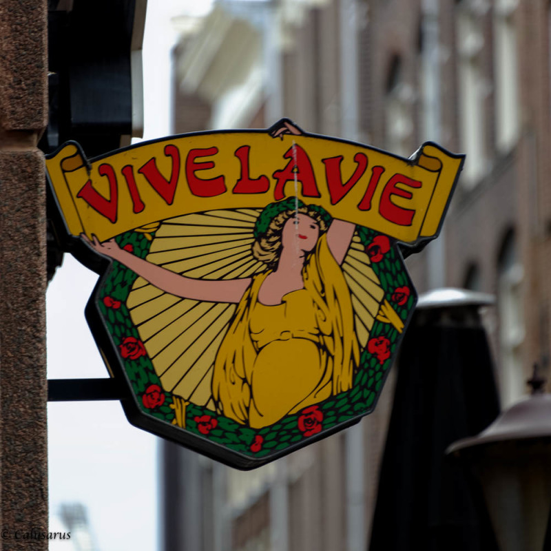 Enseigne Amsterdam