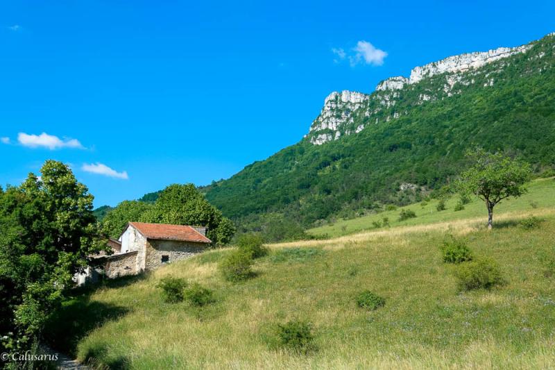 Drome 26 Rochefort-Samson Paysage Mnoagne
