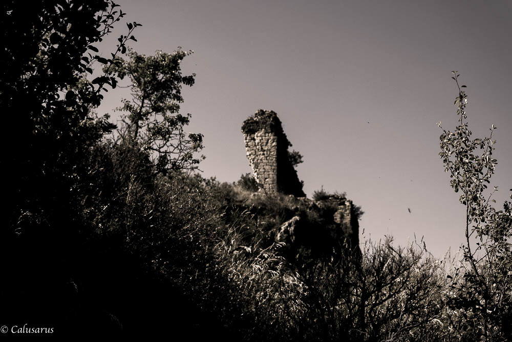 Paysage Drome Montagne Rochefort-samson 26 N&B