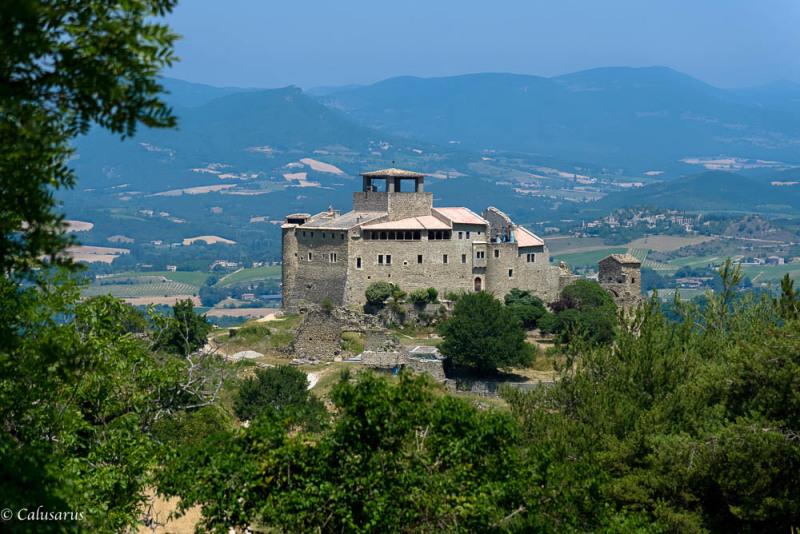 Paysage Drome 26 chateau