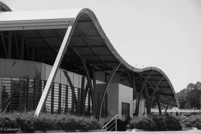architecture N&B Drome 26 Bourg de Péage