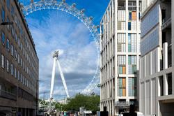 Paysage ciel roue Londres