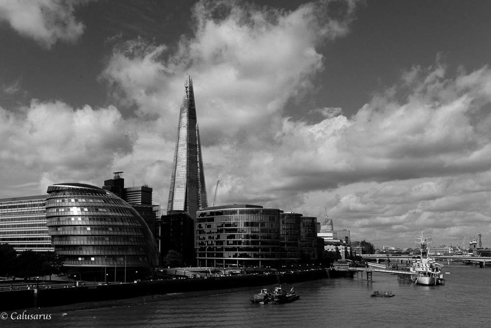 Paysage N&B Londres