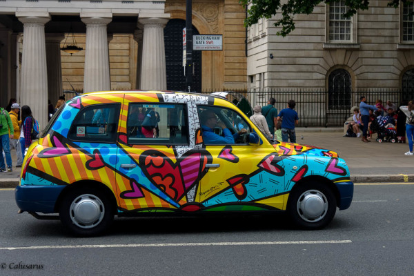 Automobile Taxi Londres