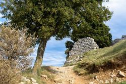 Paysage Crussol Château Ruine