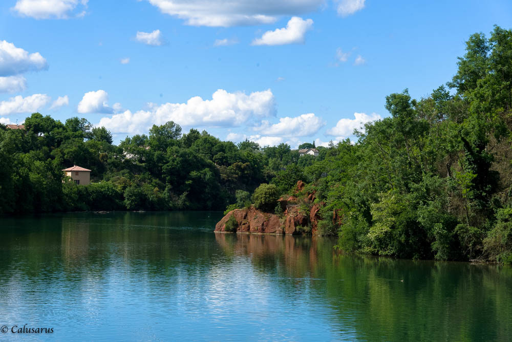 Paysage Drome 26 riviere