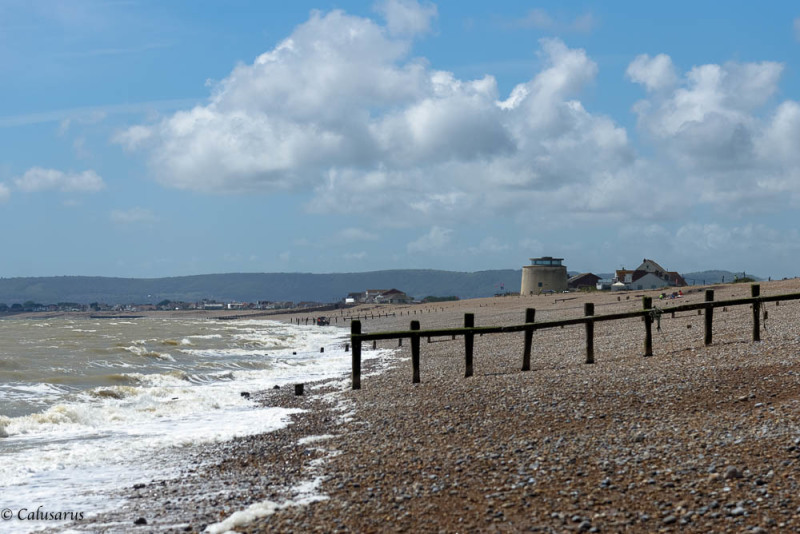 Paysage mer UK Pevensey UK
