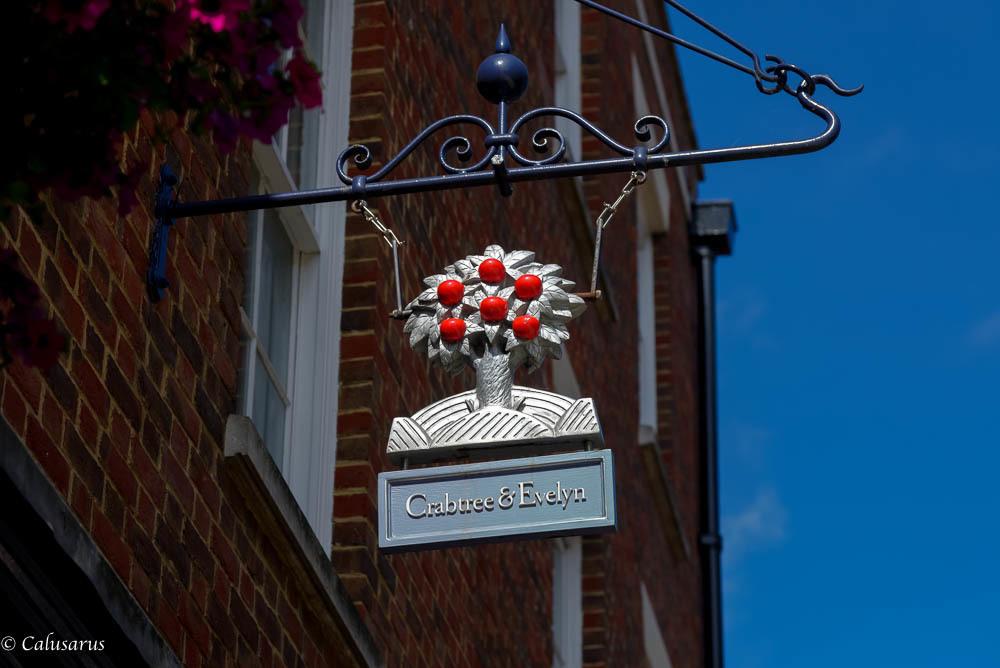 Enseigne Canterbury Kent UK