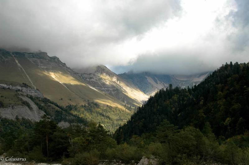 Paysage Drome 26 Montagne Lus-La-croix-Haute