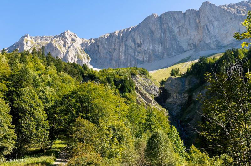 Paysage Drome 26 Lus-La-Croix-Haute Montagne