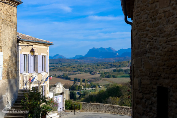 Chabrillan paysage Drome 26 Montagne