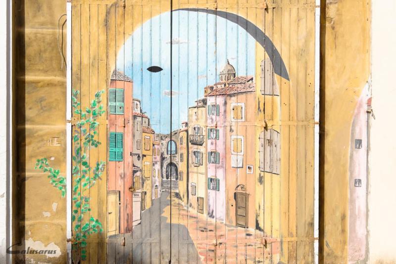 Trompe-l'oeil bouches-du-Rhone Arles