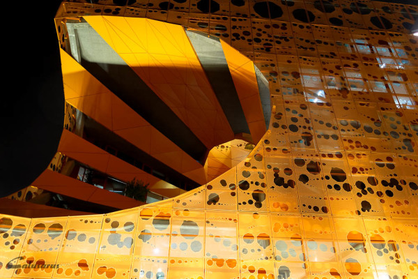 Architecture Lyon Nuit Confluence