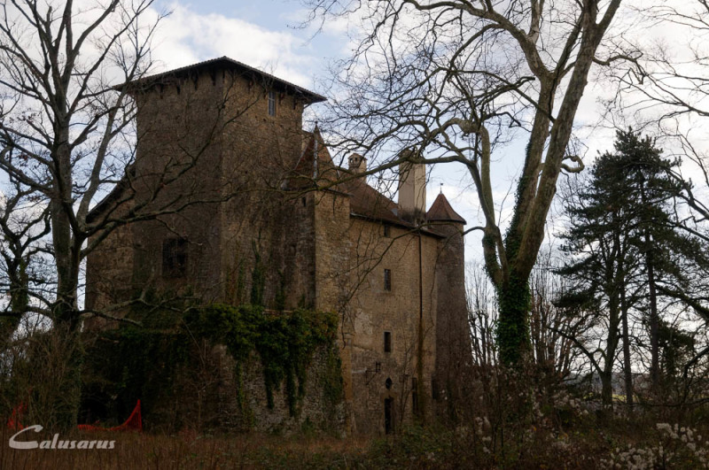 Paysage Drome Château charmes 26
