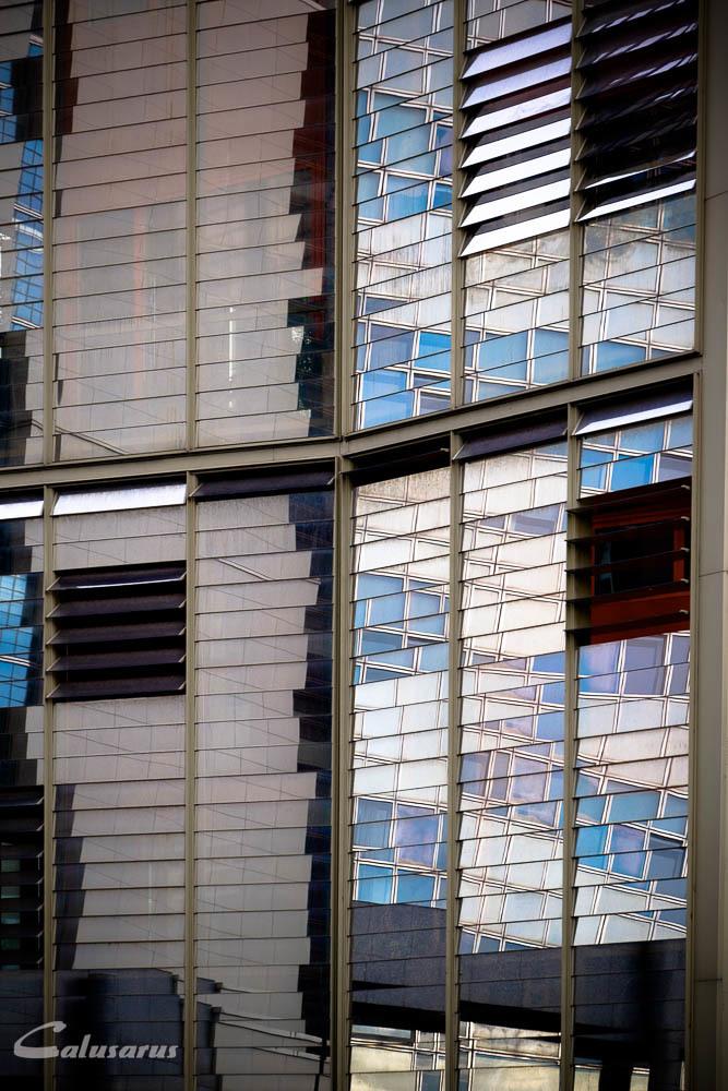 Architecture Fenêtre Paris Reflet