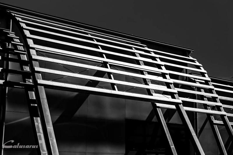 Architecture Drome 26 Bourg de Peage N&B