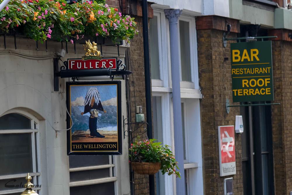 Enseigne Signage Londres UK