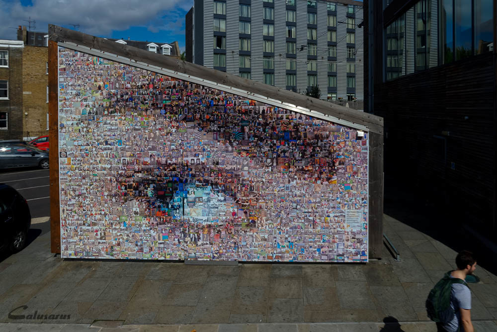 Trompe l'oeil Graffiti Londres