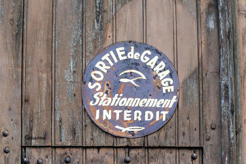 Porte detail panneau Eure