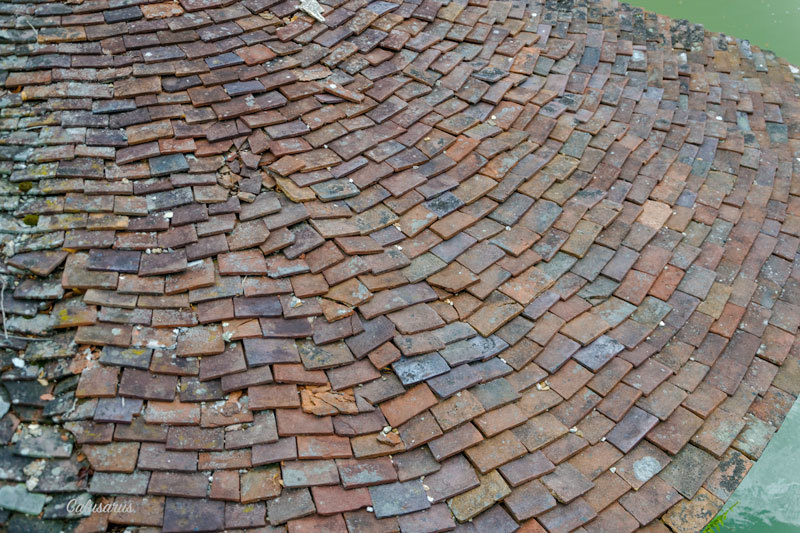 Architecture toit Eure Detail